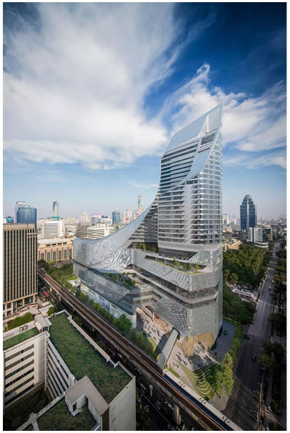 Central Embassy<br /> Bangkok<br /> 6C+1.52PVB+6C YNE0152#4+12A+6C