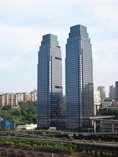 重庆长江国际<br /> 6YRE0152 钢化 +12A+6 钢化